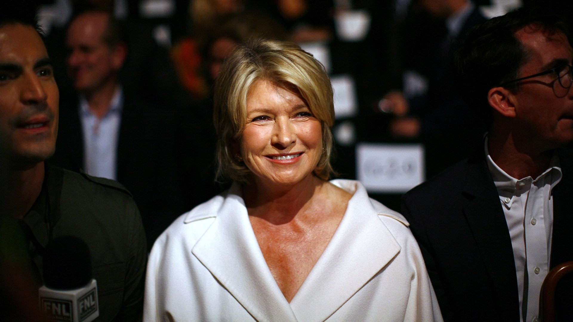 Image: Martha Stewart attends the Chado Ralph Rucci Spring 2010 collection during New York Fashion Week