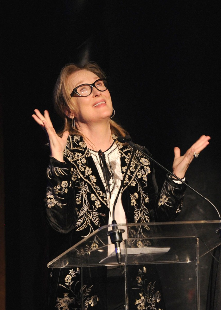 Image: The Eugene O'Neill Theater Center Presents Meryl Streep With The 14th Annual Monte Cristo Award - Inside