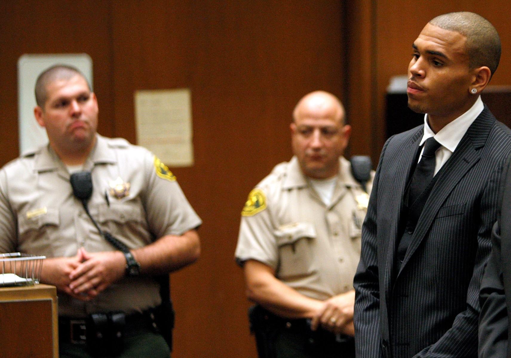 Stomp The Yard Chris Brown Gets Shot