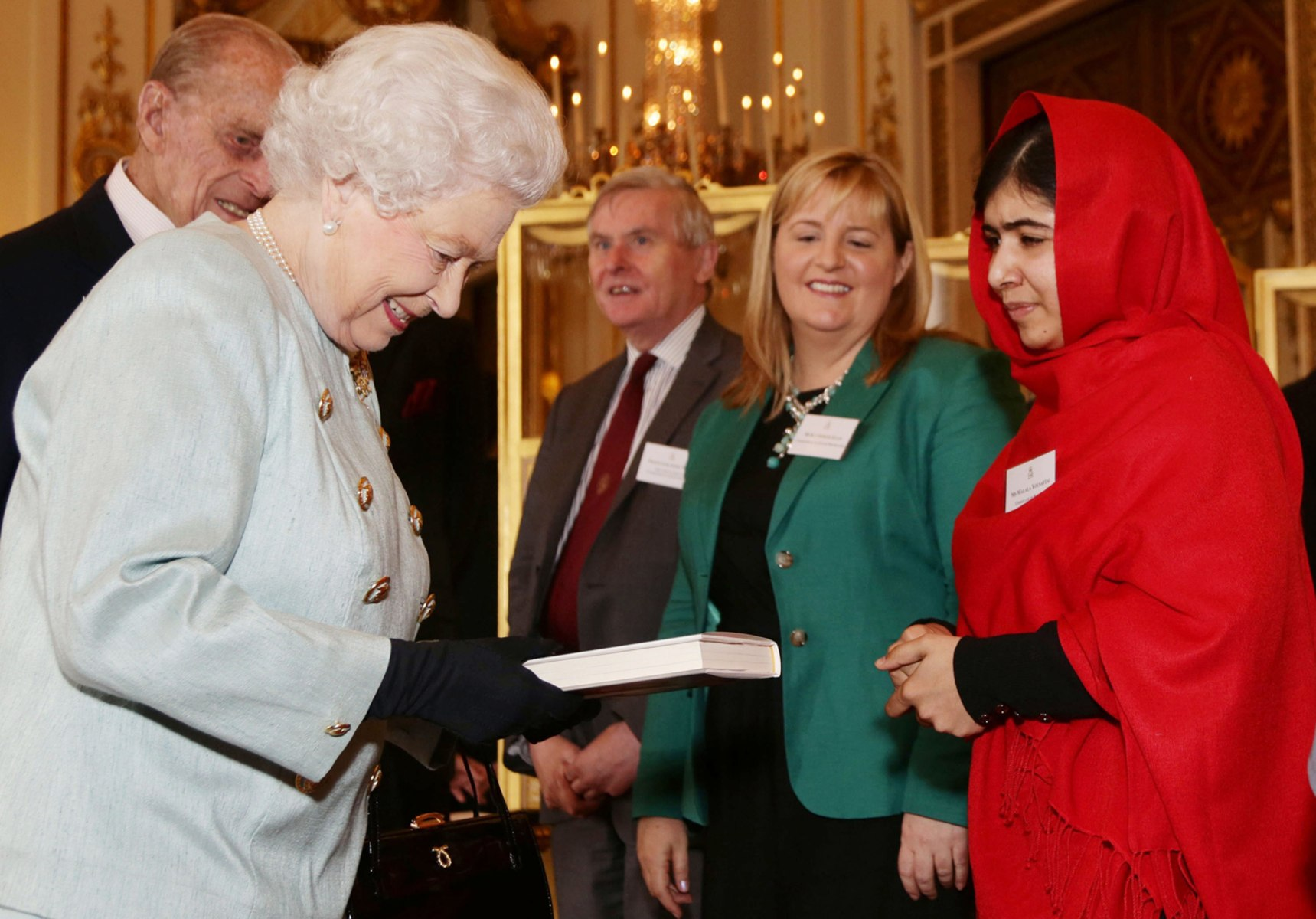 Image: BRITAIN-ROYALS-PAKISTAN-MALALA-EDUCATION