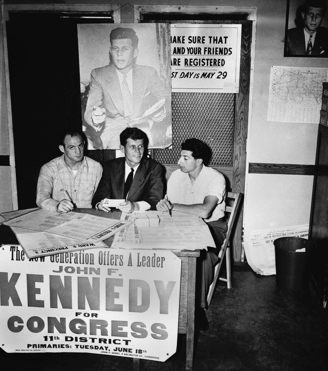 a review of the political career of john f kennedy As a young journalist seven decades ago, john f kennedy  john f kennedy  diary reveals shift from journalist to budding politician.