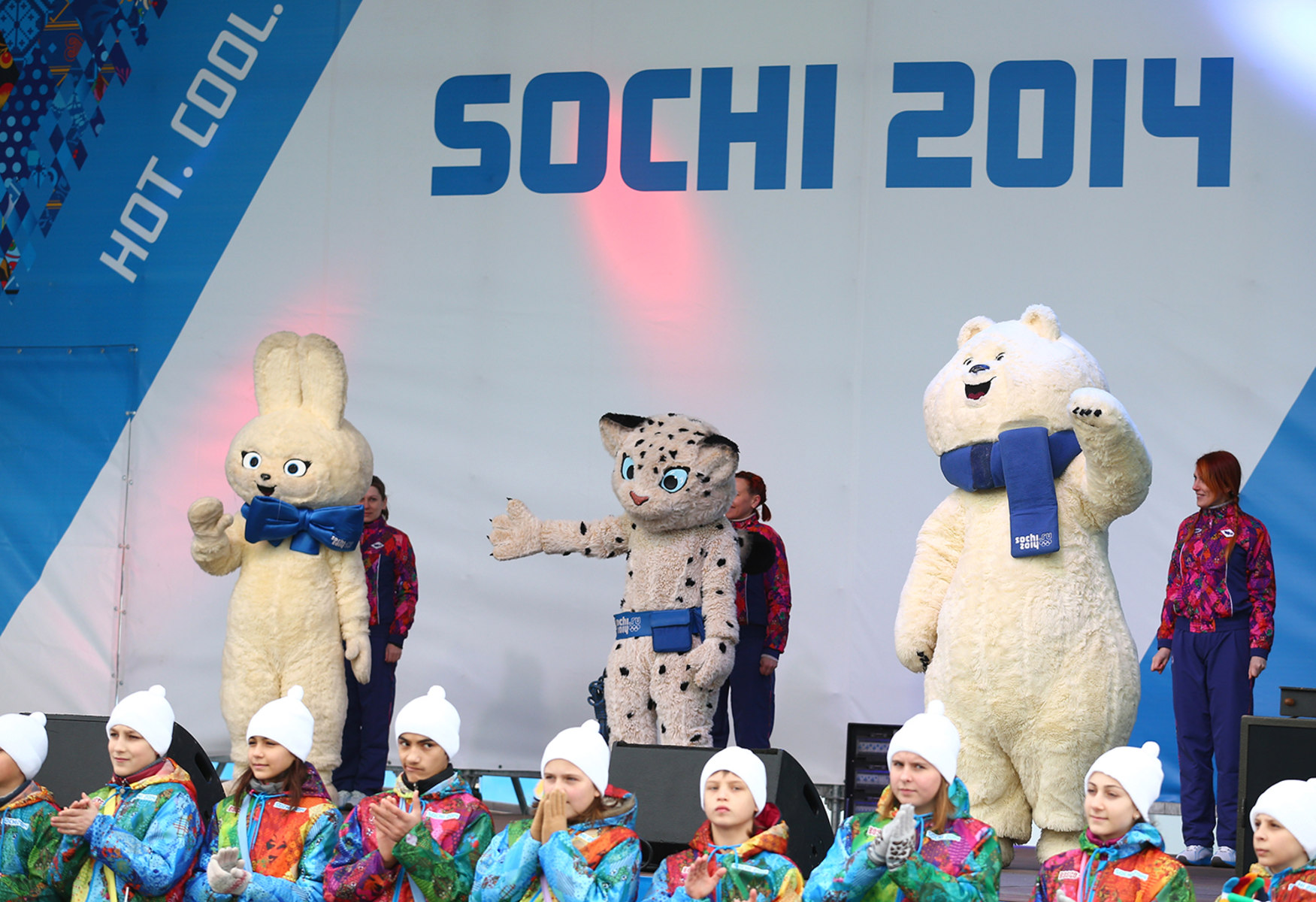The Sochi Olympic mascots are here — and they're ... |Winter Olympics 2014 Mascot Names
