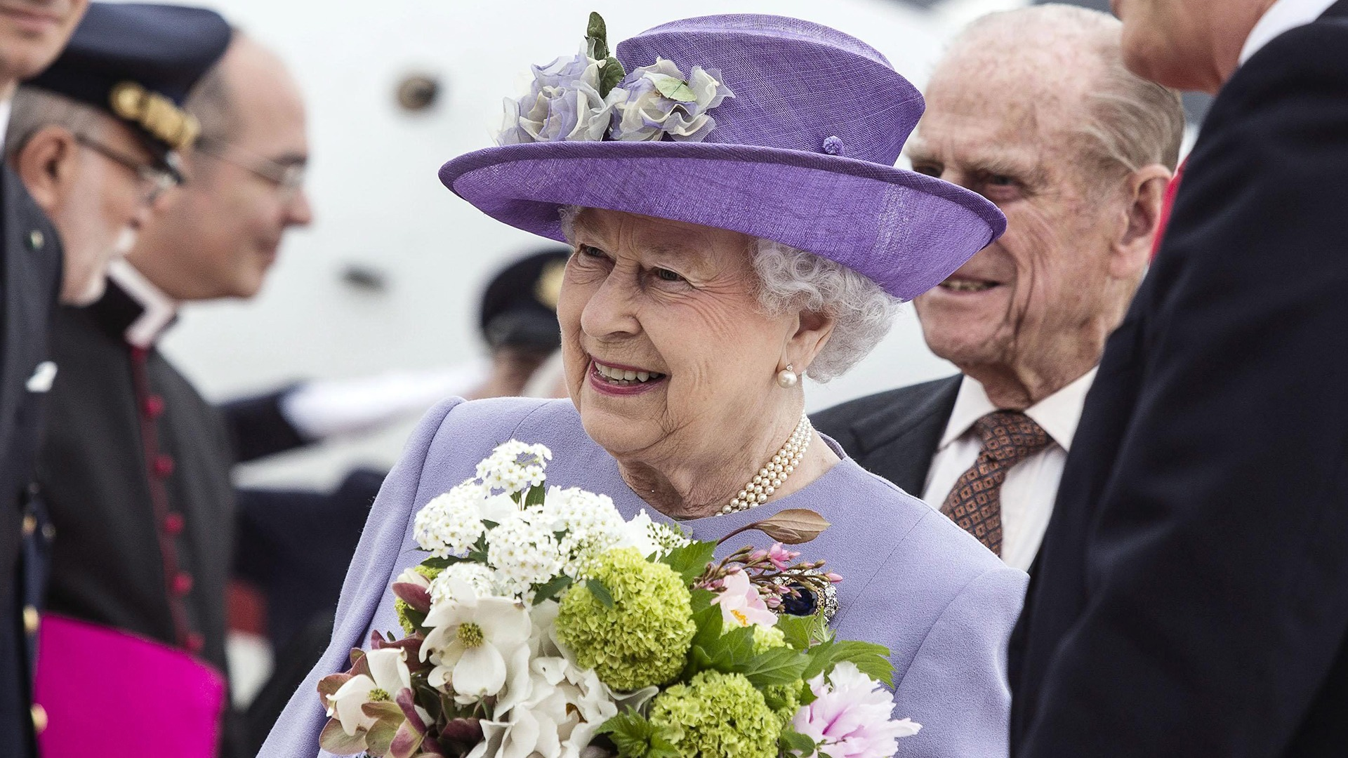 Image: Queen Elizabeth II in Rome