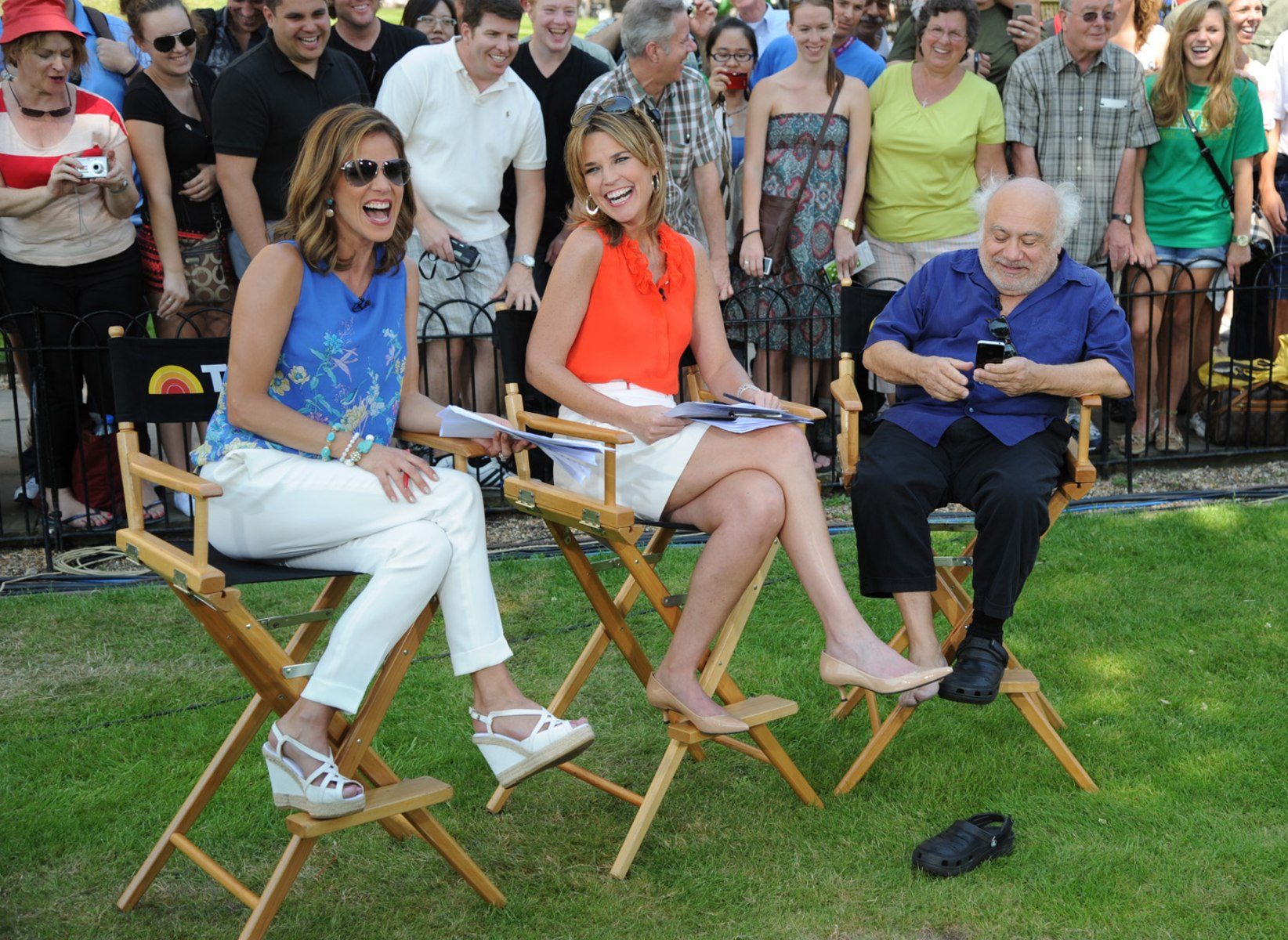 Meredith vieira upskirt on the today show - 3 2