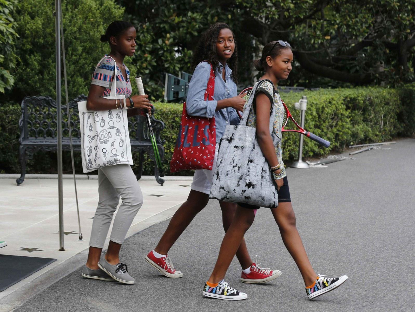 Sasha and Malia Obama's Best Fashion Looks - Style 38