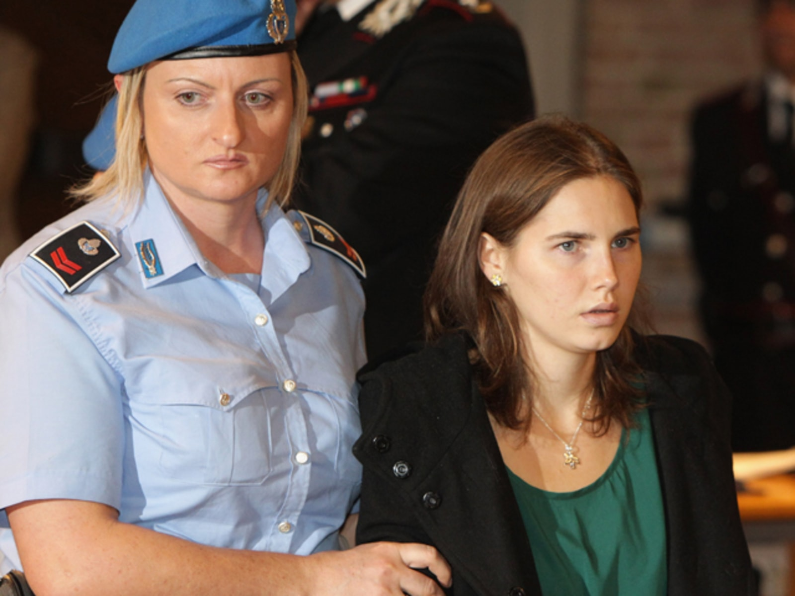 Image: Amanda Knox and Raffaele Sollecito Win Their Appeal Against Their Conviction For The Murder Of Meredith Kercher
