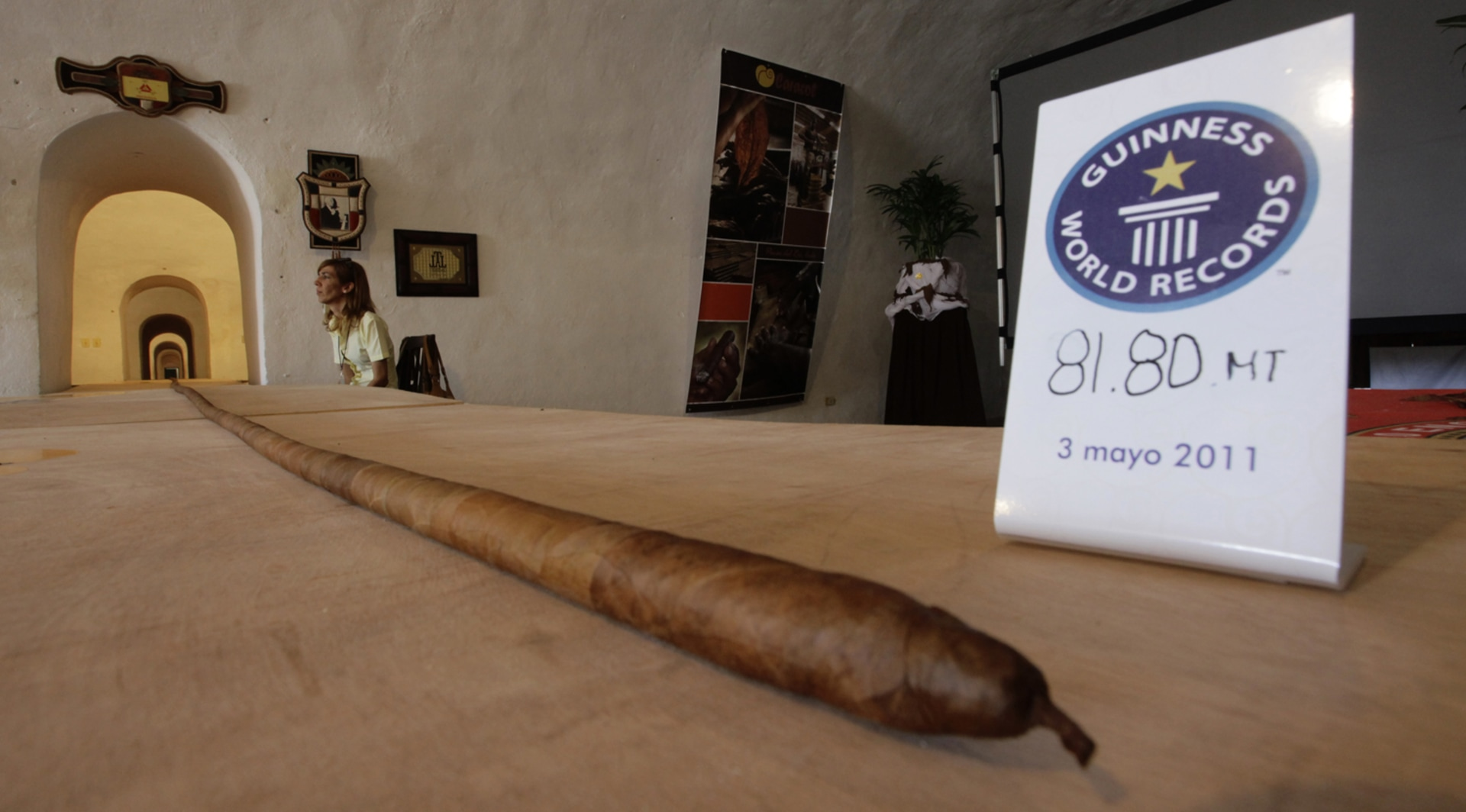 image the worlds longest cigar is seen in havana