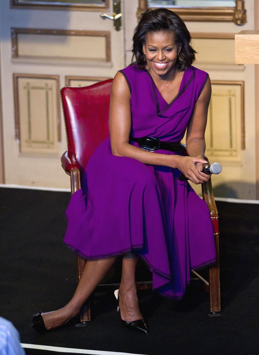 Michelle Obama's style - 2011 - TODAY.com
