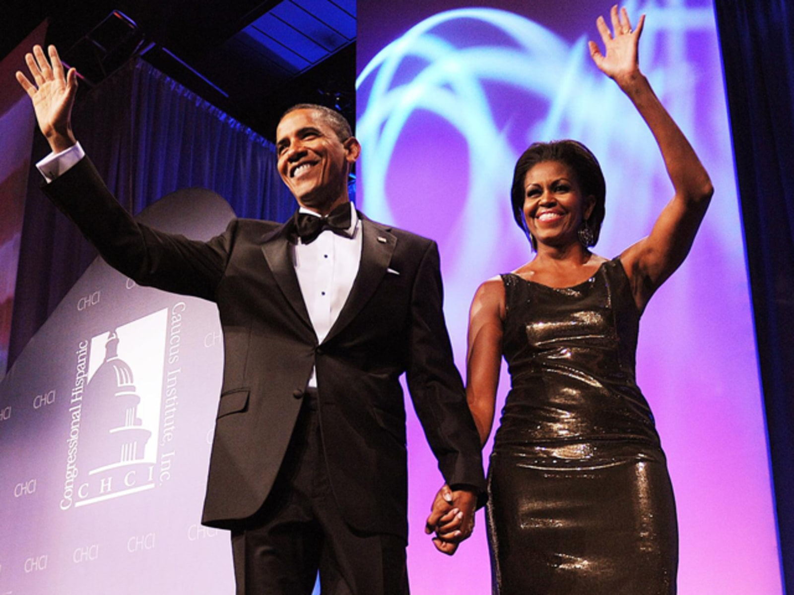 Image: President and First Lady Obama Attend Congressional Hispanic Caucus Institute Gala - Washington