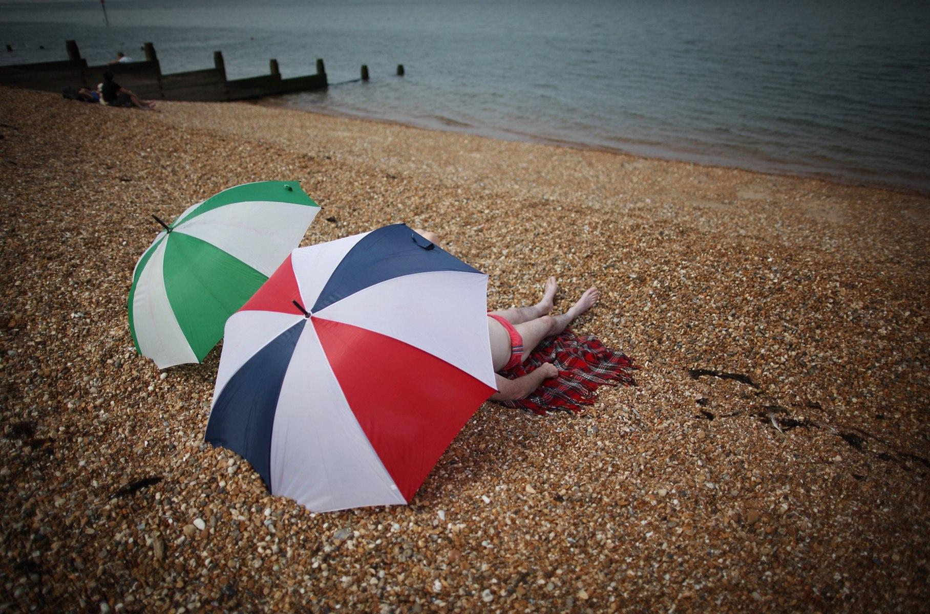 Image: Britain Basks In Summer Sunshine
