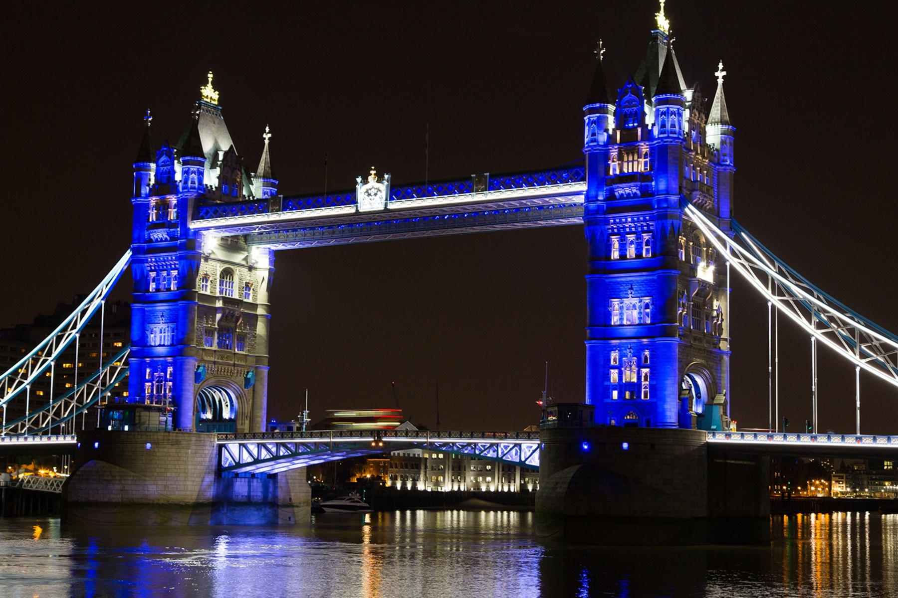 Image: Blue Tower Bridge