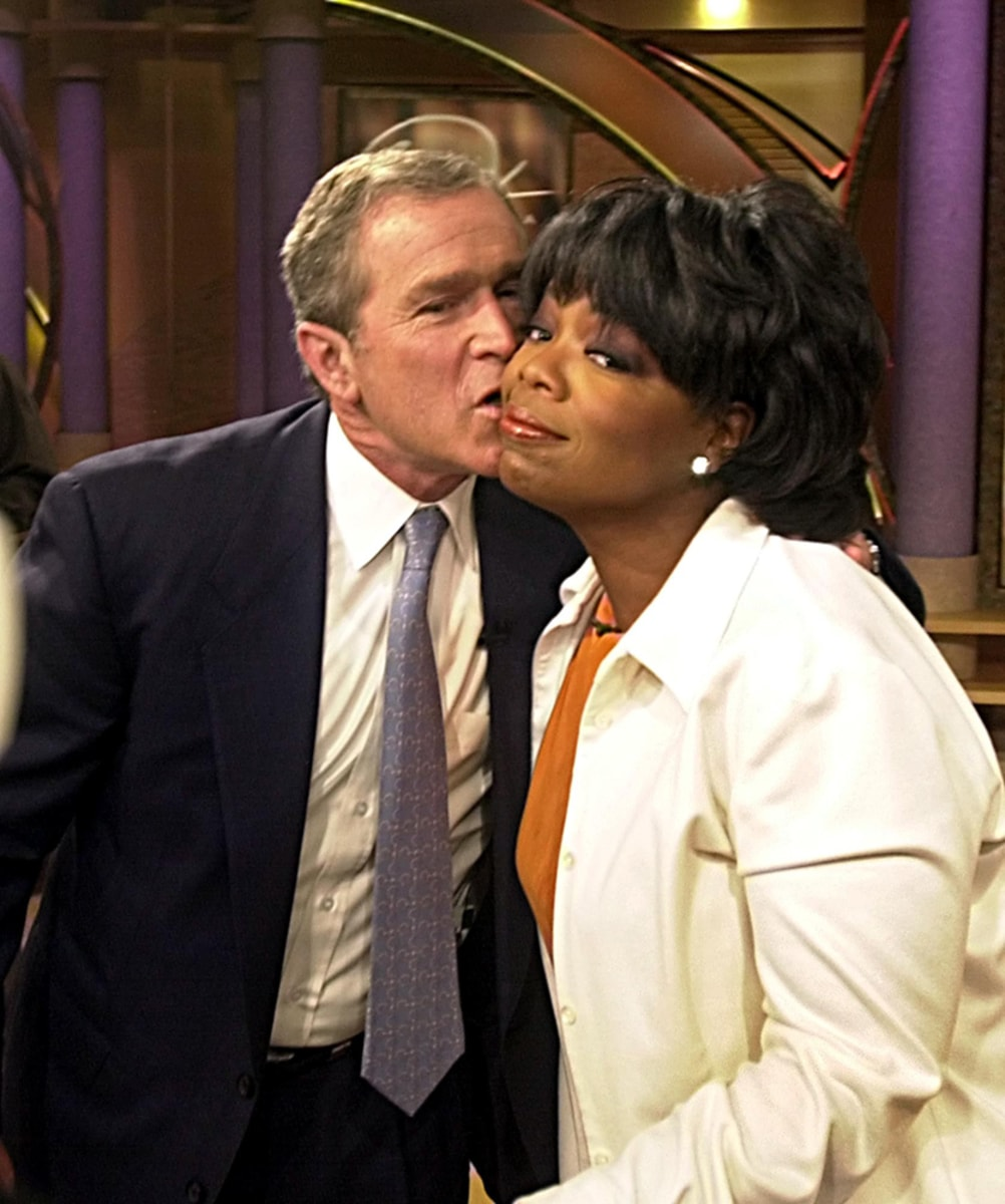Oprah And Gayle Kissing