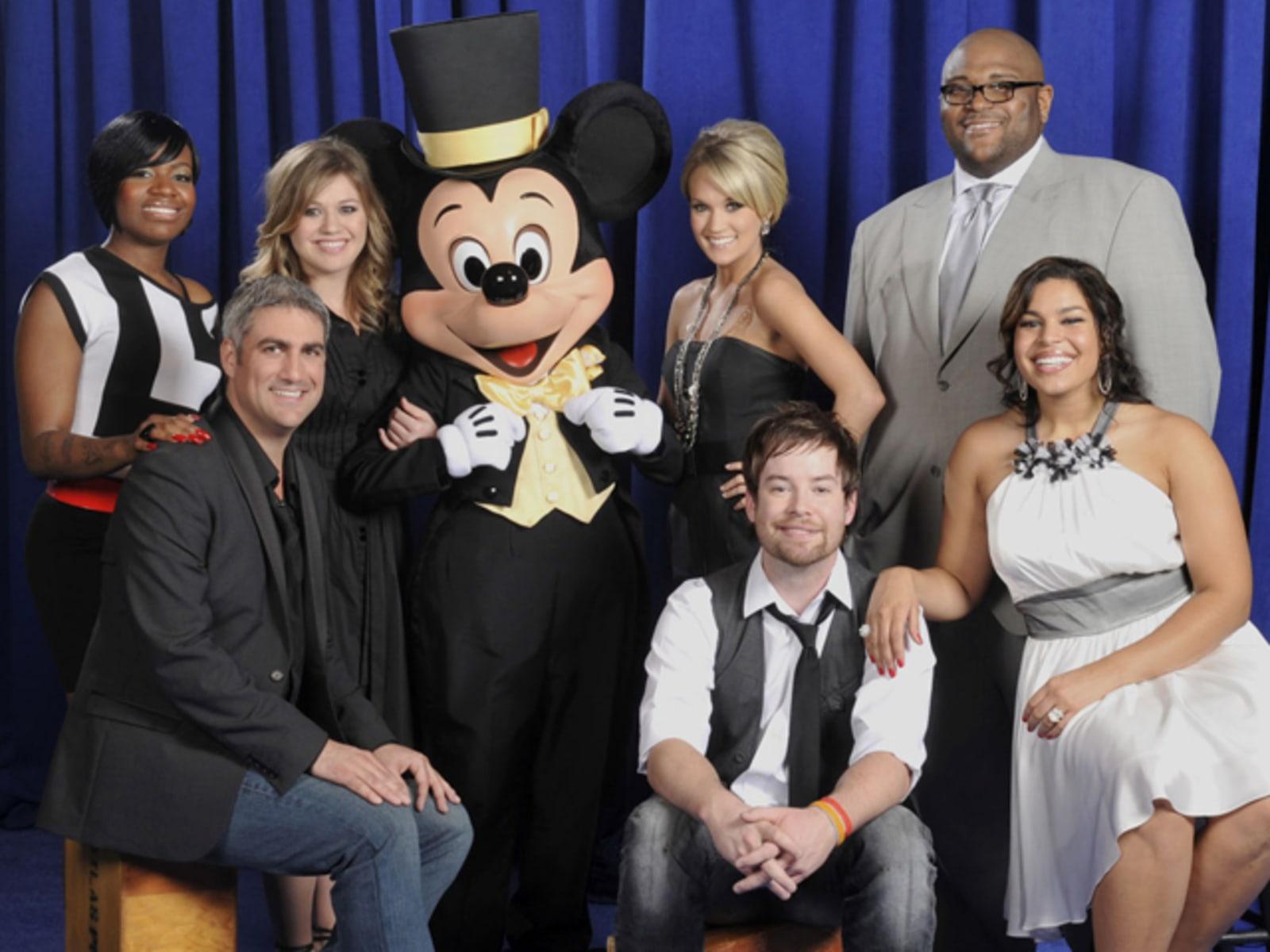 "Image: Seven winners of ""American Idol"""