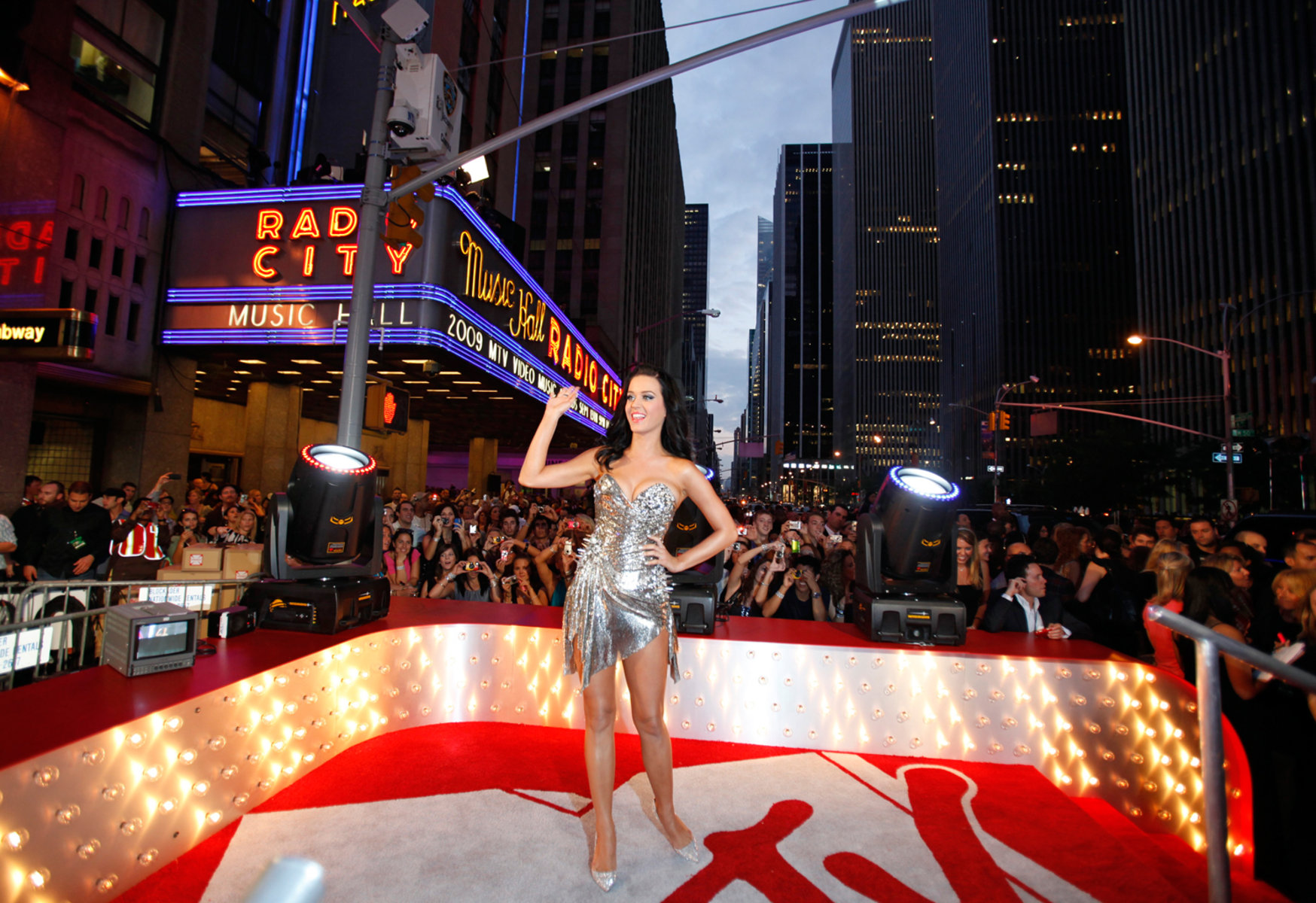 Image: Musician Katy Perry arrives at the 2009 MTV Video Music Awards in New York