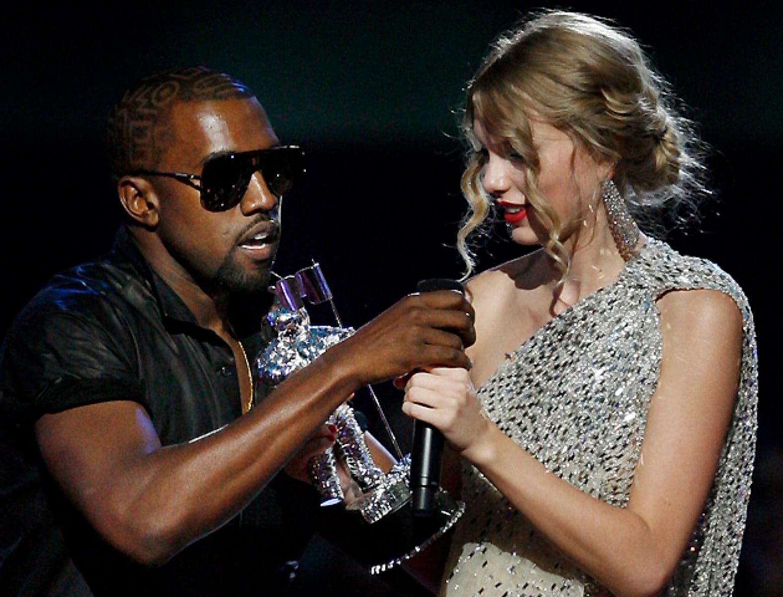 Image: Kanye West, Taylor Swift