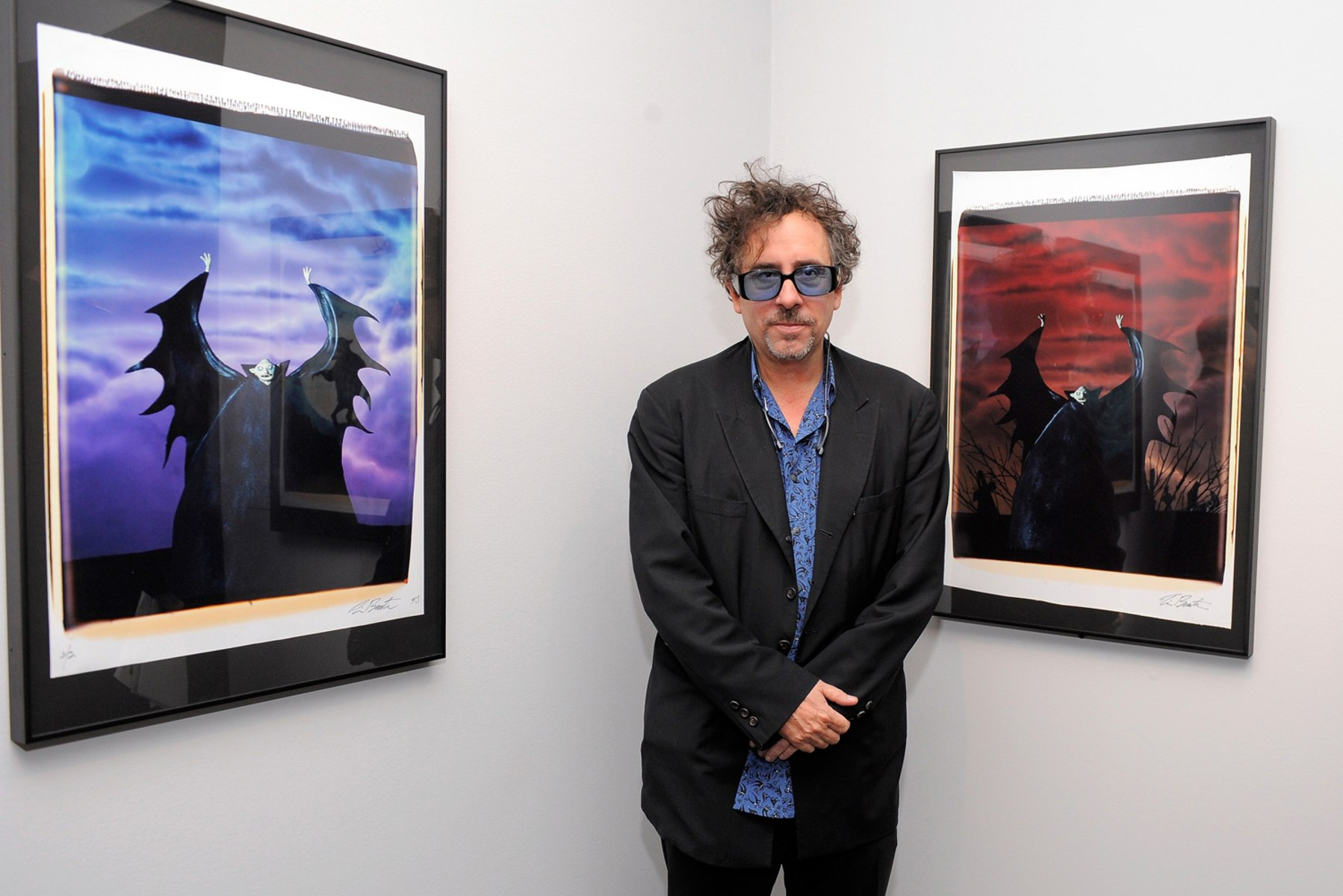 Image: Media Preview Of The Museum Of Modern Art: Tim Burton