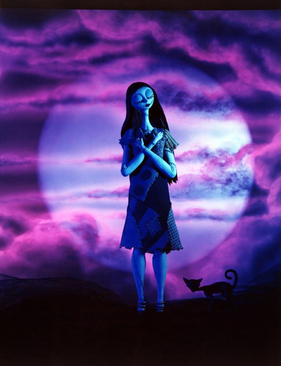 Tim Burton A Retrospective How To Download Purple Nightmare Before Christmas HD Wallpaper