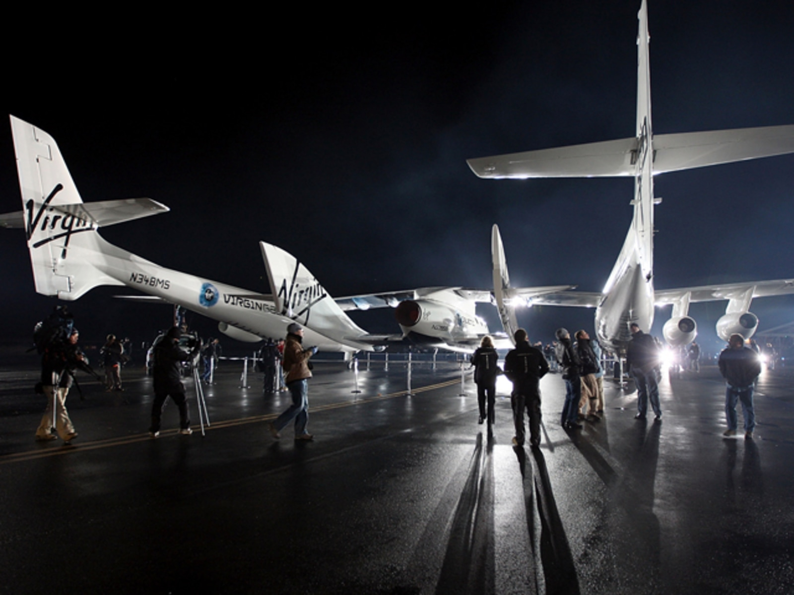 Image: Virgin Galactic's SpaceShipTwo, First Commercial Spacecraft, Unveiled In CA