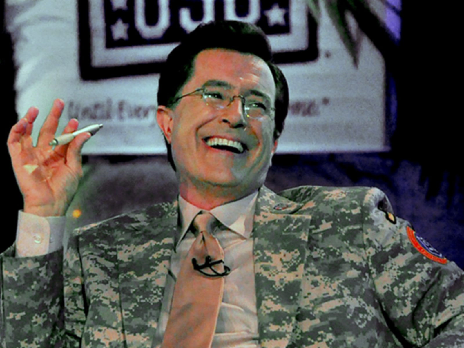 The Colbert Report In Iraq