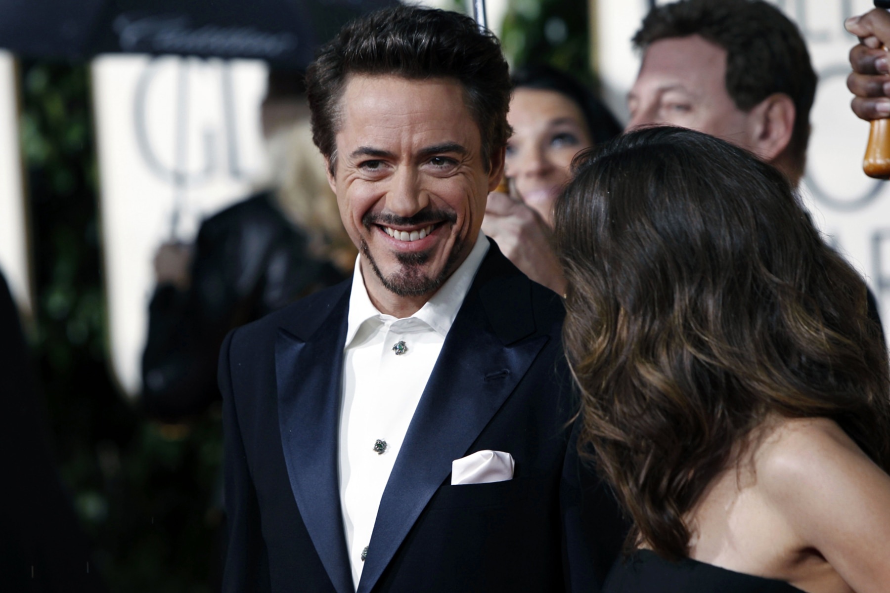 Image: Robert Downey, Jr.,  Susan Levin