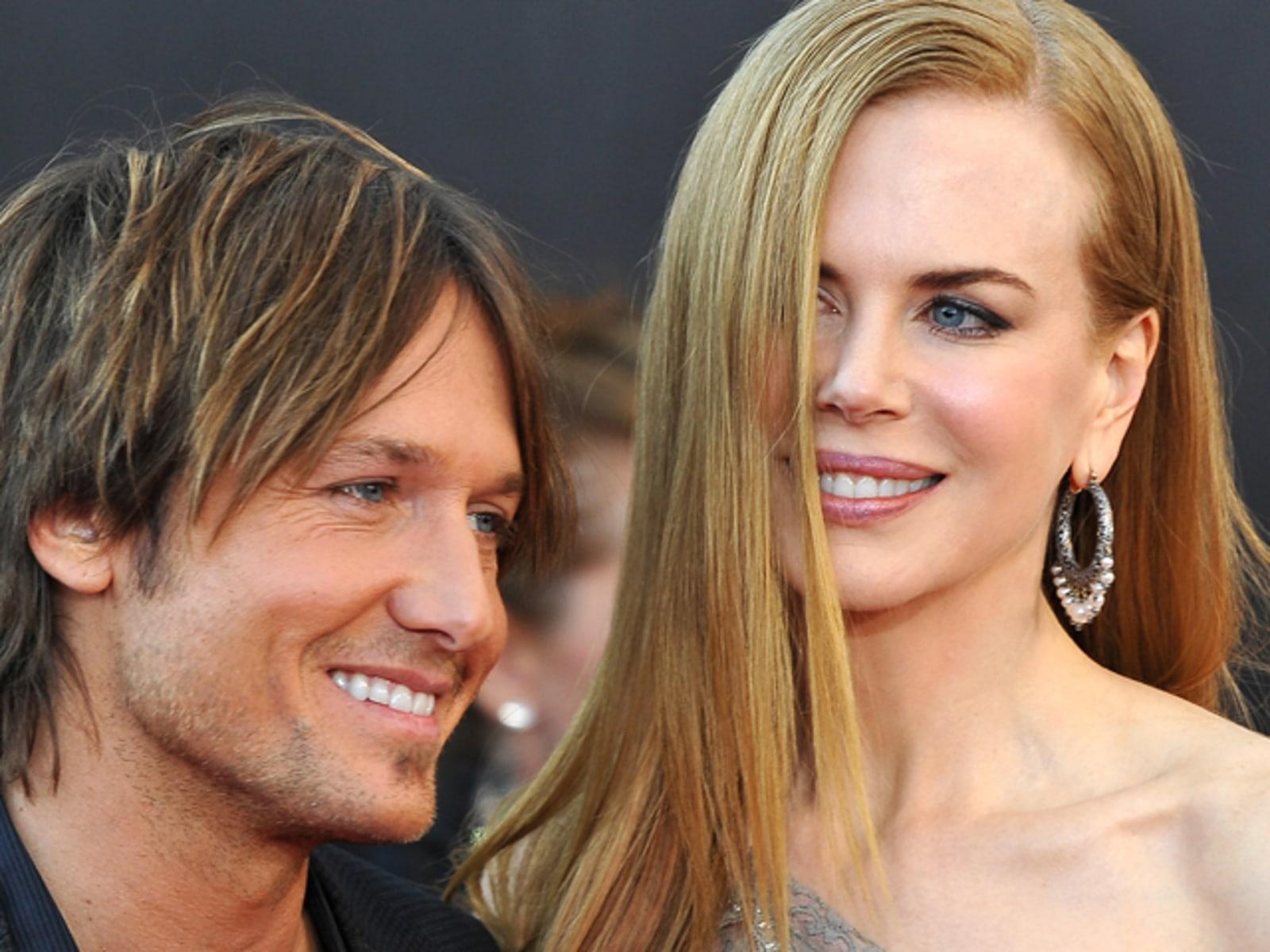 Image: Actress Nicole Kidman and husband Keith