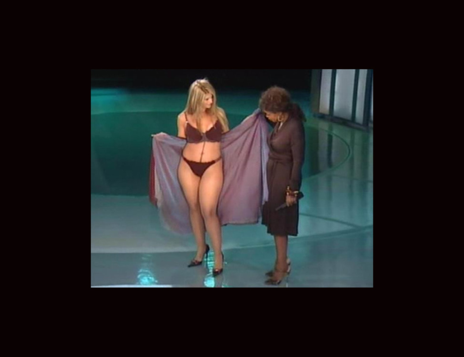 Kirstie Alley Bikini Ophrah