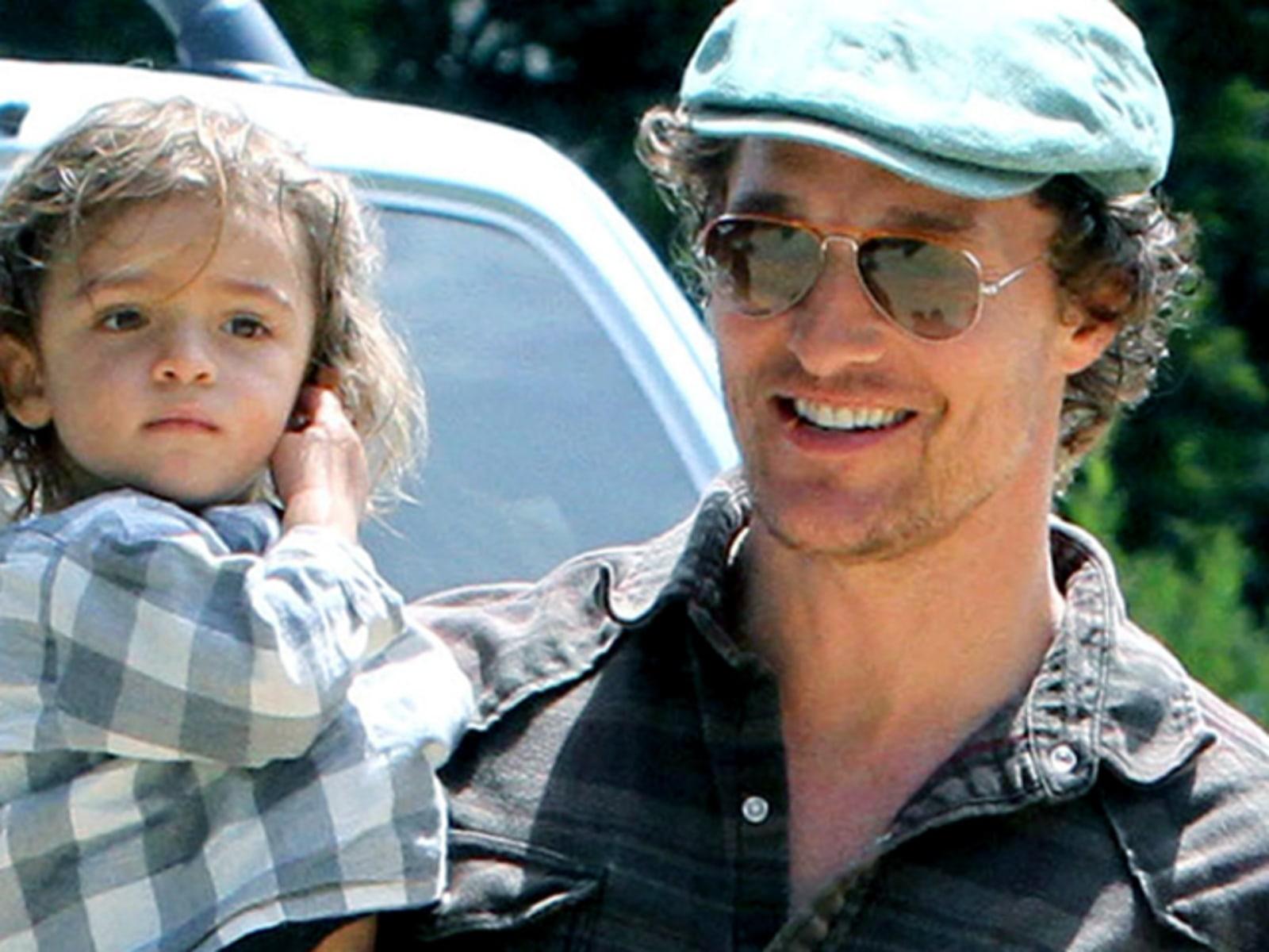 Image: Matthew McConaughey and McConaughey