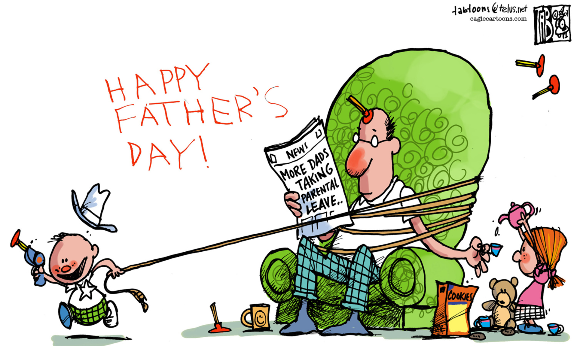 Image result for happy father's day cartoons