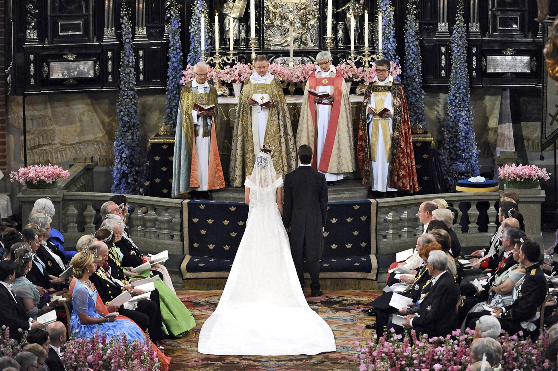 Sweden victoria wedding