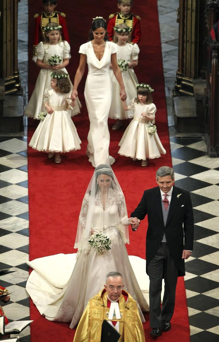 royal wedding�s flashy fashion todaycom