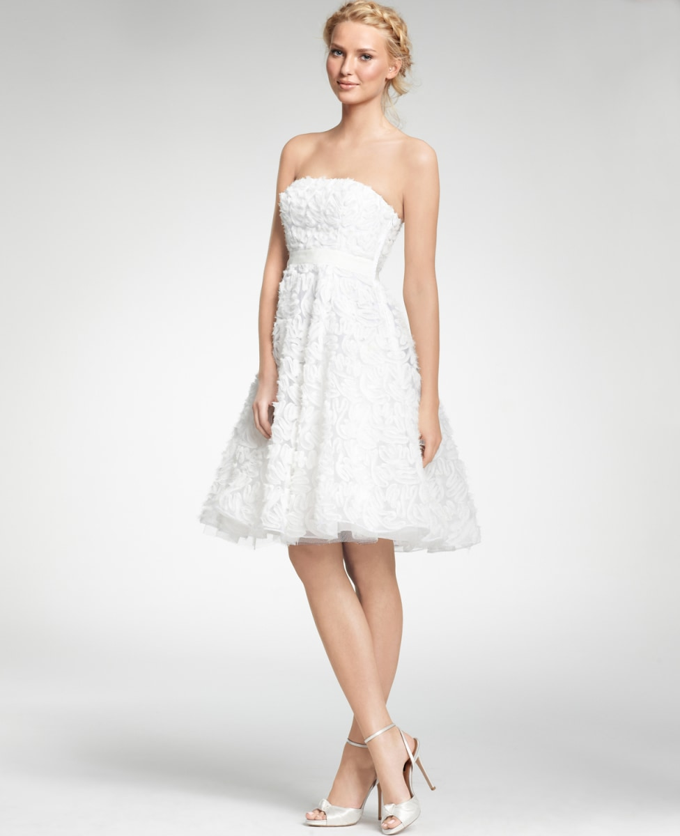 Something borrowed wedding poaching is on the rise today chic summer bridal gowns junglespirit Choice Image