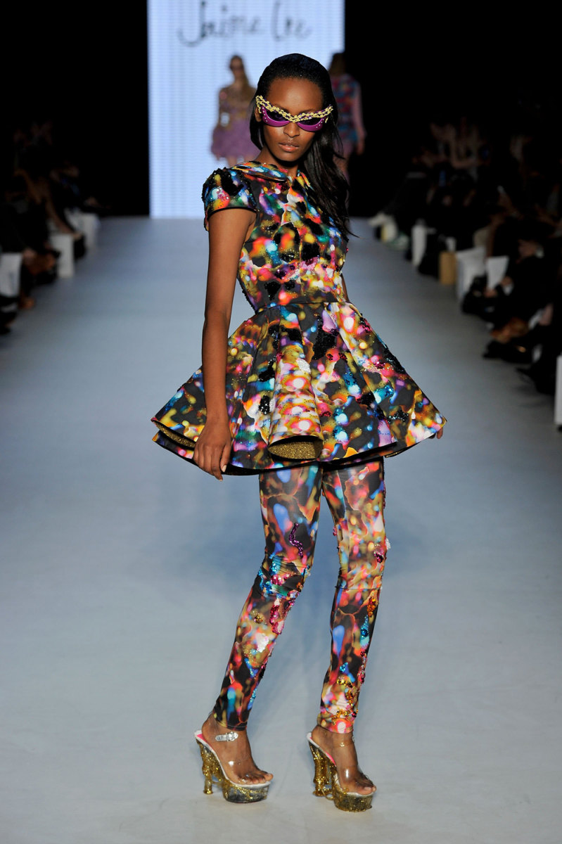 Funky, freaky fashion on the runway
