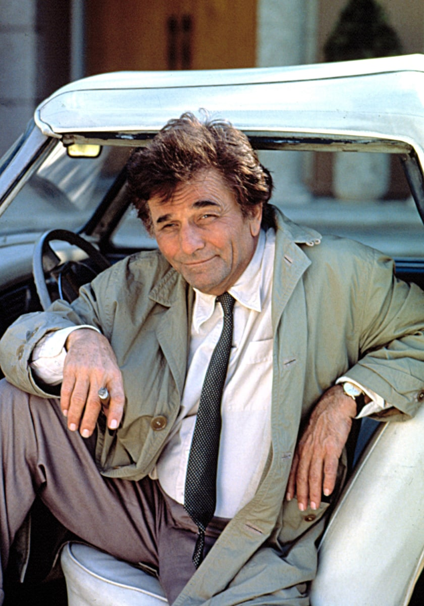 "Image: Peter Falk as ""Columbo,"" 1968 - 1978"