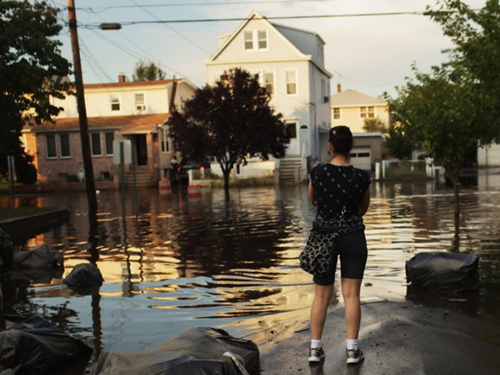 Image: The Rising Passaic River Continues To Flood Jersey Towns