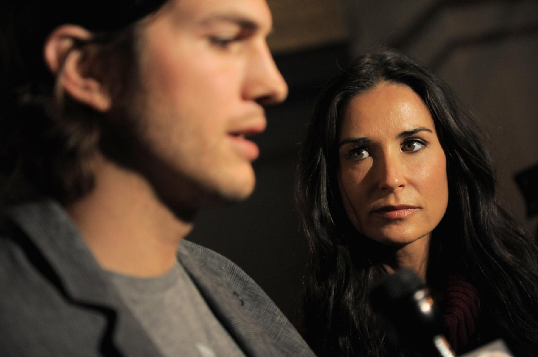 Image: Demi Moore and Ashton Kutcher