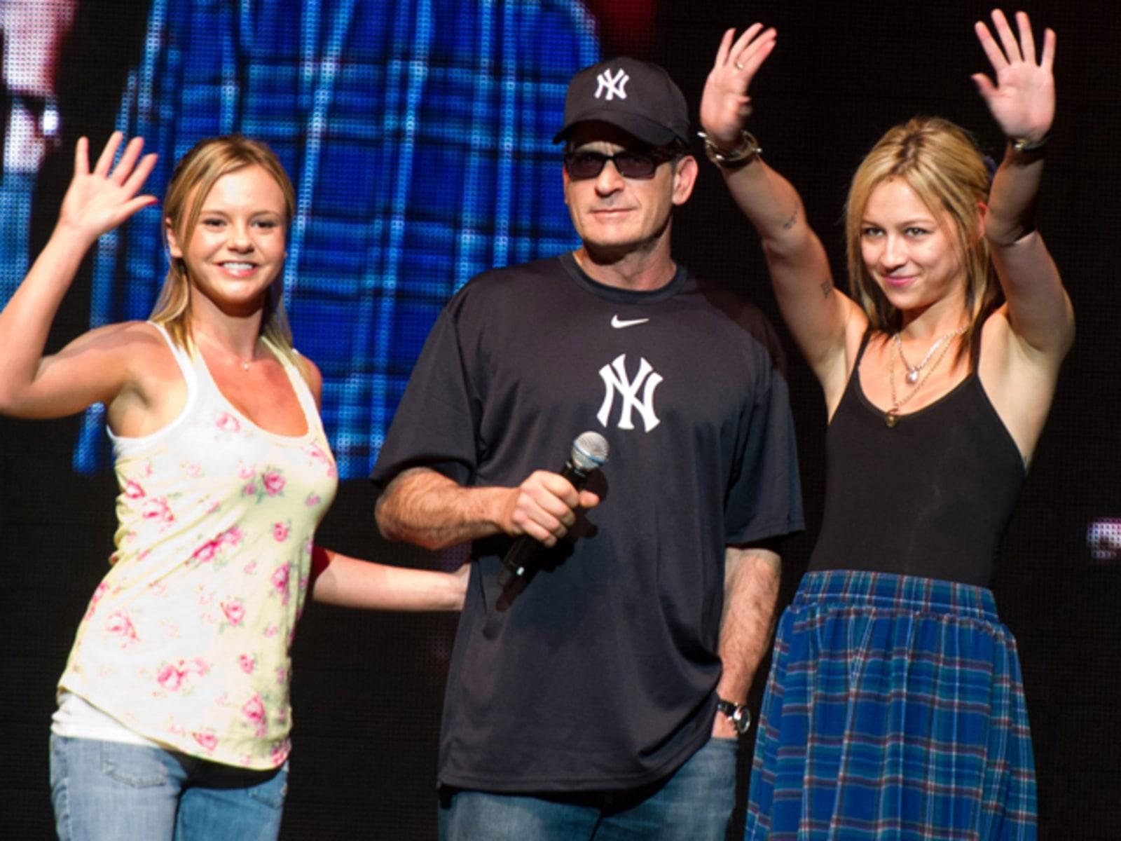 Image: Charlie Sheen, Natalie Kenley, Rachel Oberlin