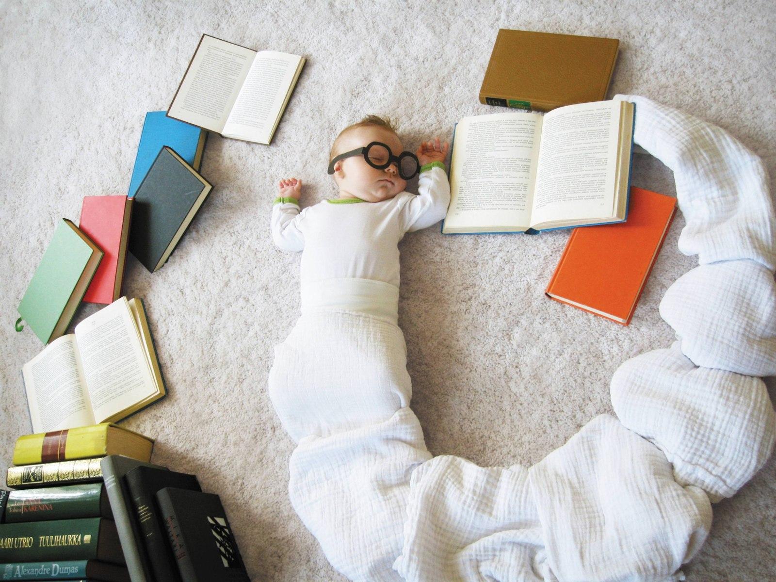 Необычные идеи фото малыша