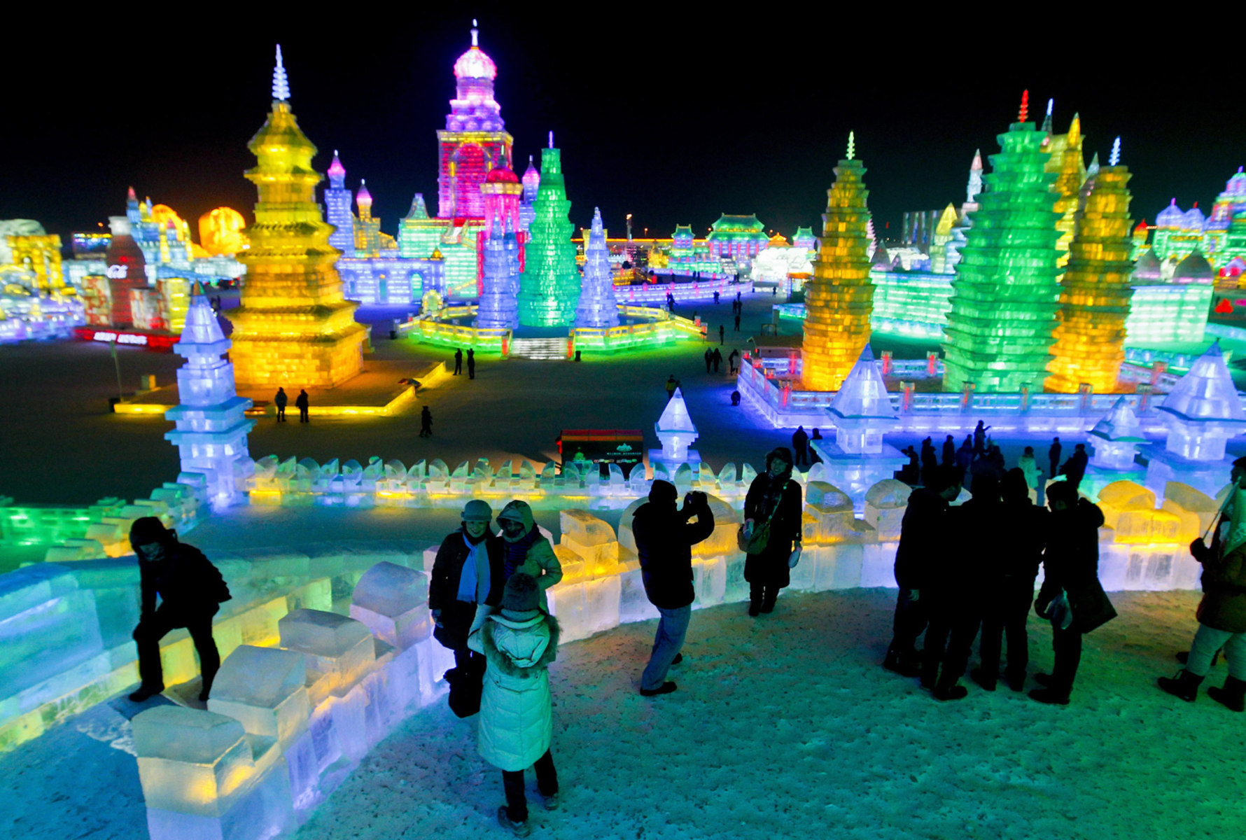 China 39 S Harbin Ice And Snow Festival