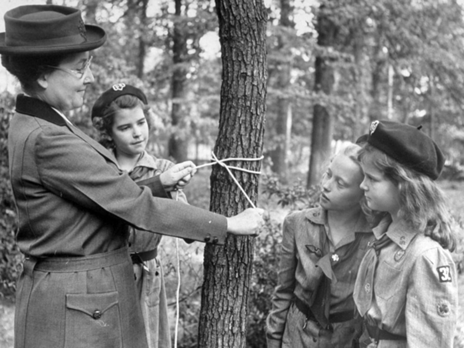 Image: The Centenary Of The Girls Scouts Movement In America