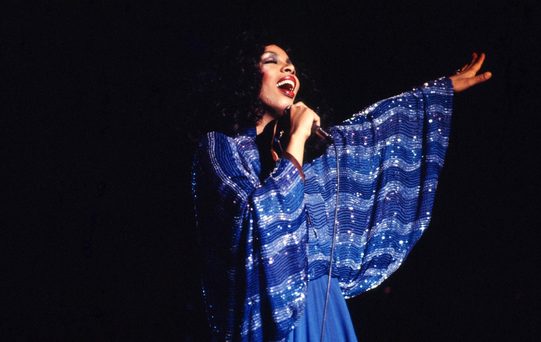 """""""Queen Of Disco"""" Performing"""