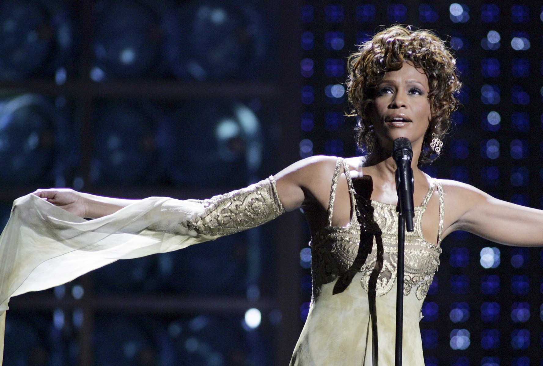 Image: File photo of Whitney Houston at the World Music Awards in Las Vegas