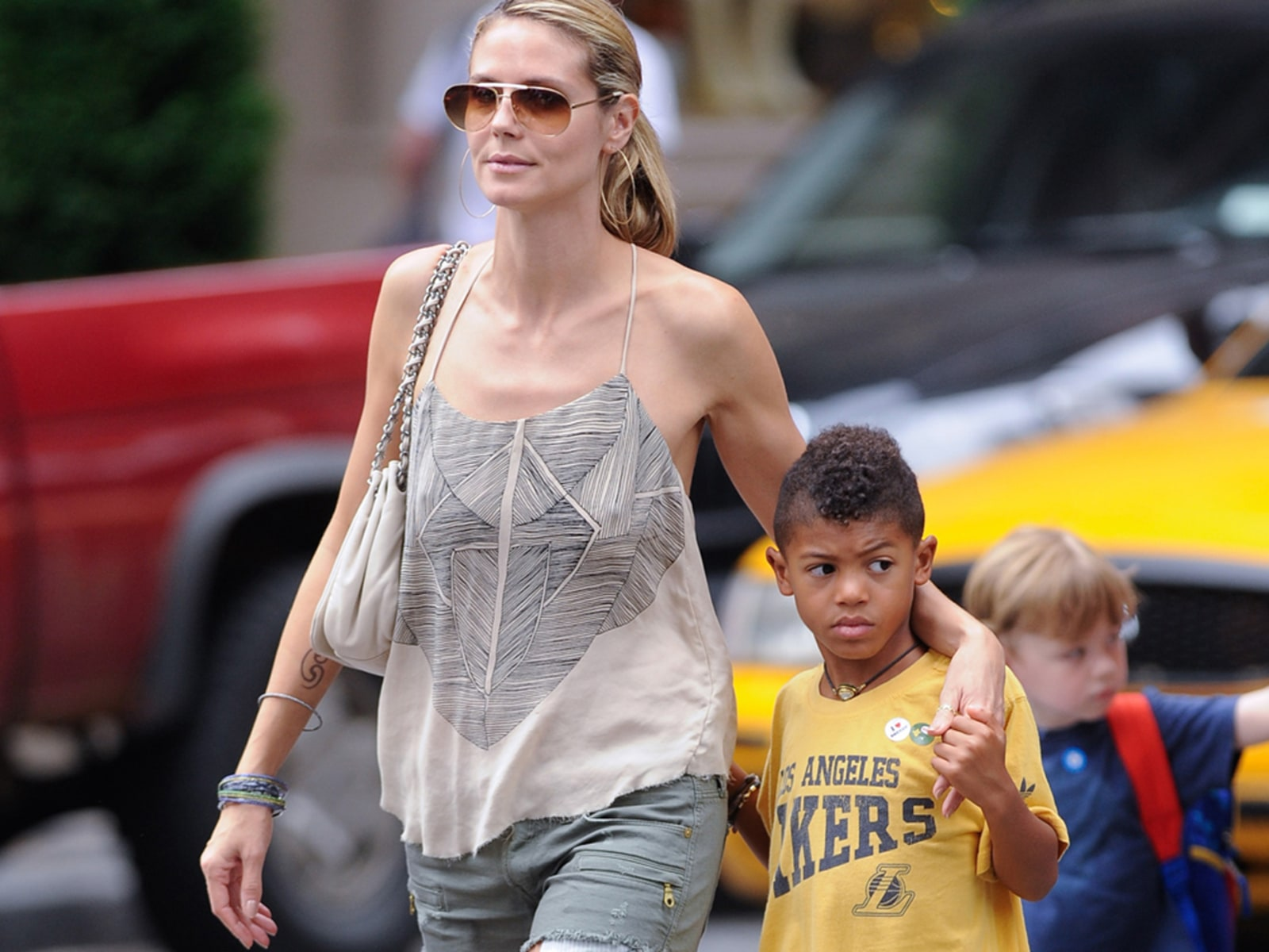 Image: Celebrity Sightings In New York City - June 21, 2011