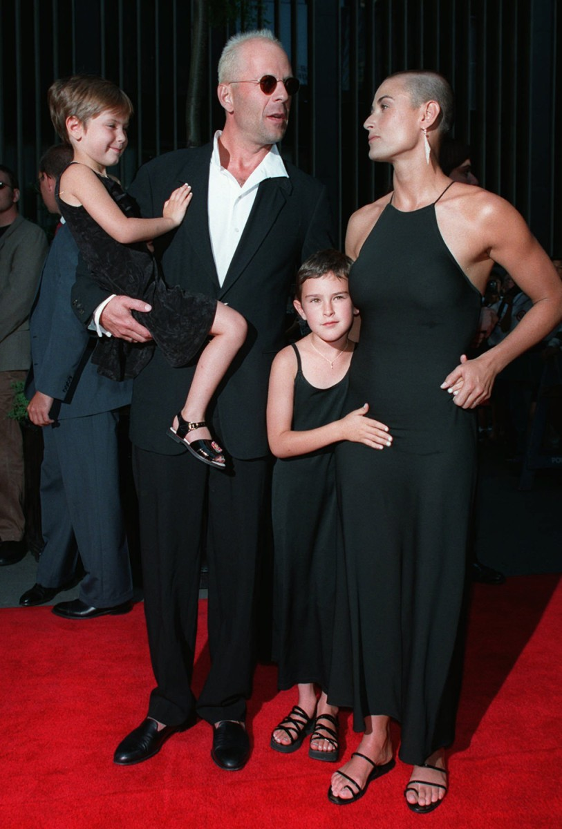 How Many Kids Does Bruce Willis Have
