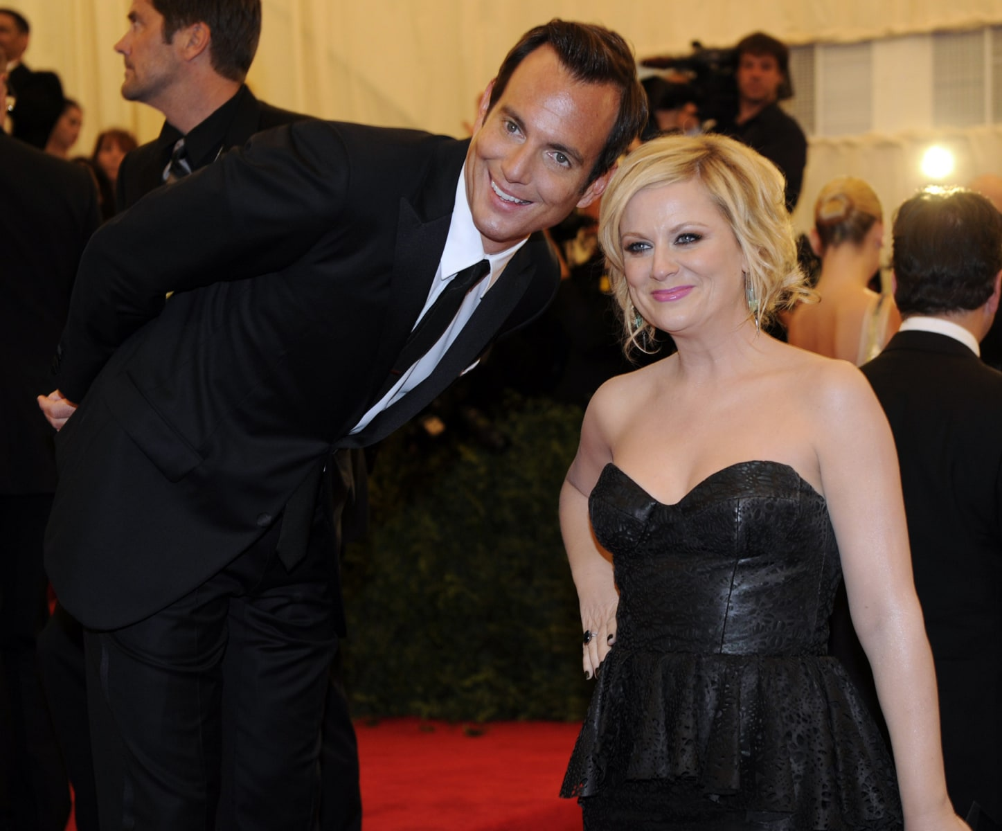 Amy Poehler Will Arnett attend the Costu