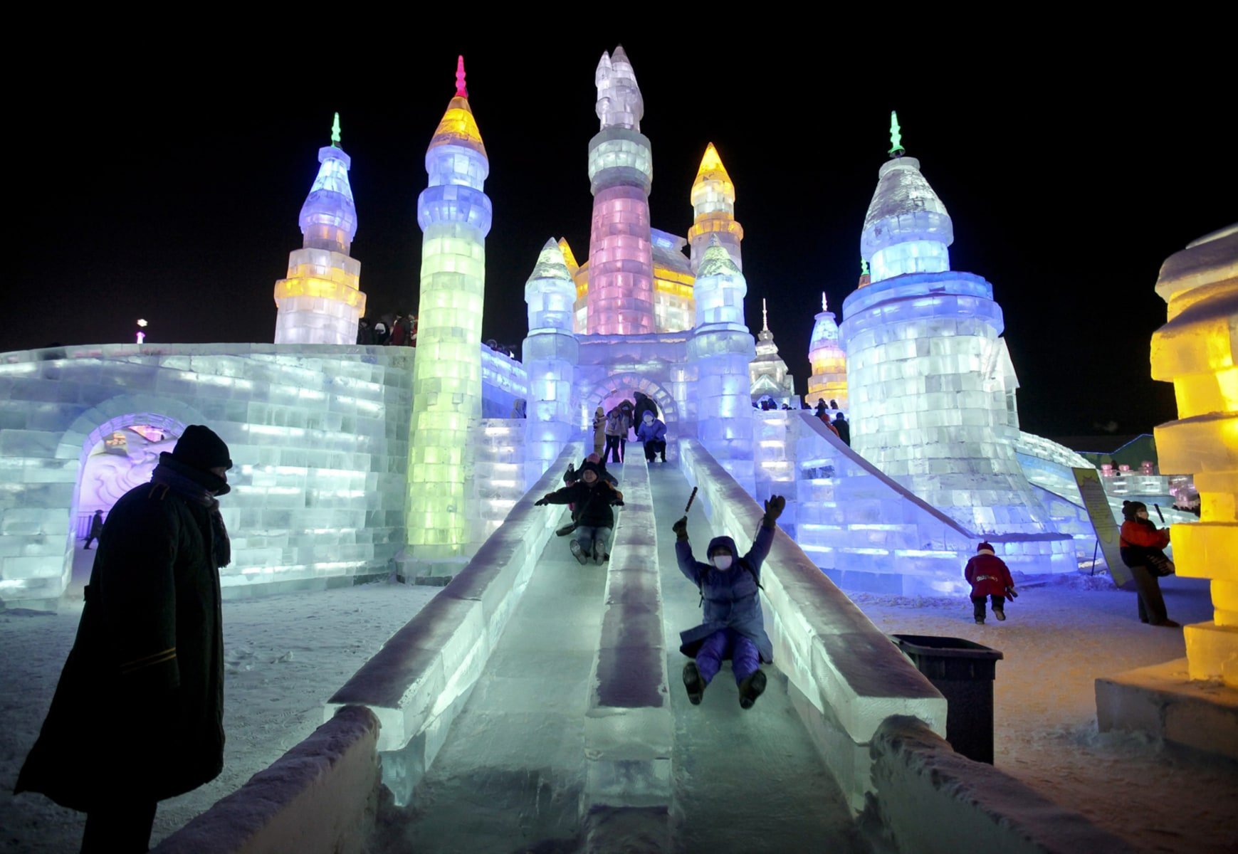Image: Harbin International Ice and Snow Festival, China