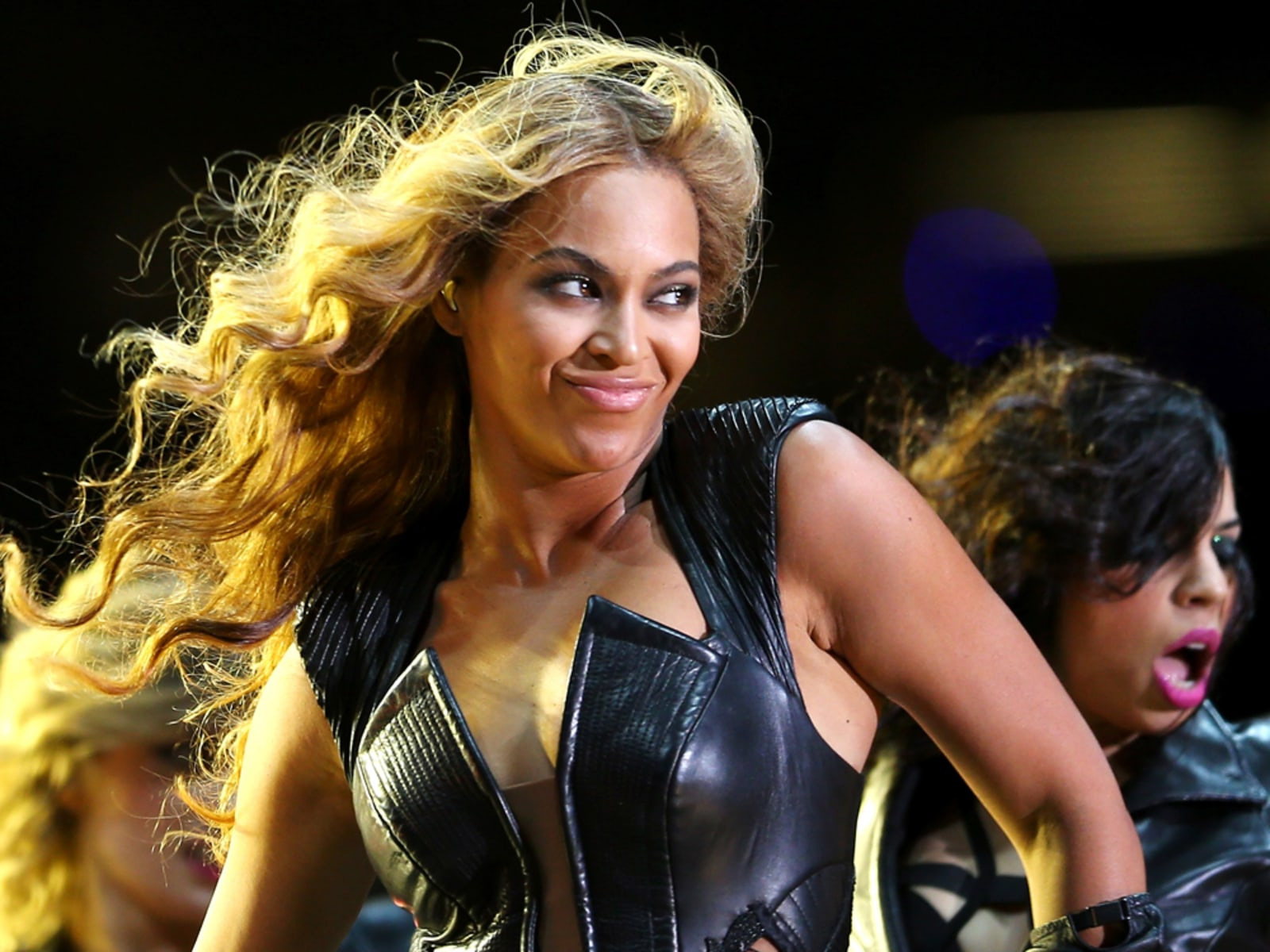 Image: Beyonce performs during the Pepsi Super Bowl XLVII Halftime Show.