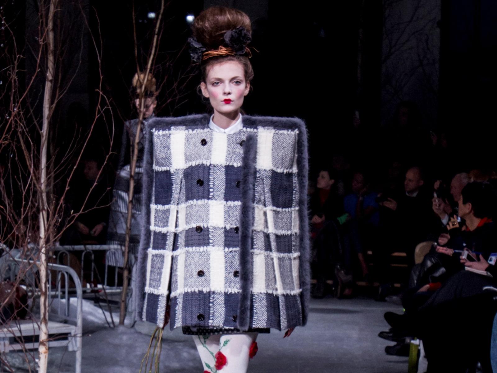 Image: Thom Browne - Presentation - Fall 2013 Mercedes-Benz Fashion Week