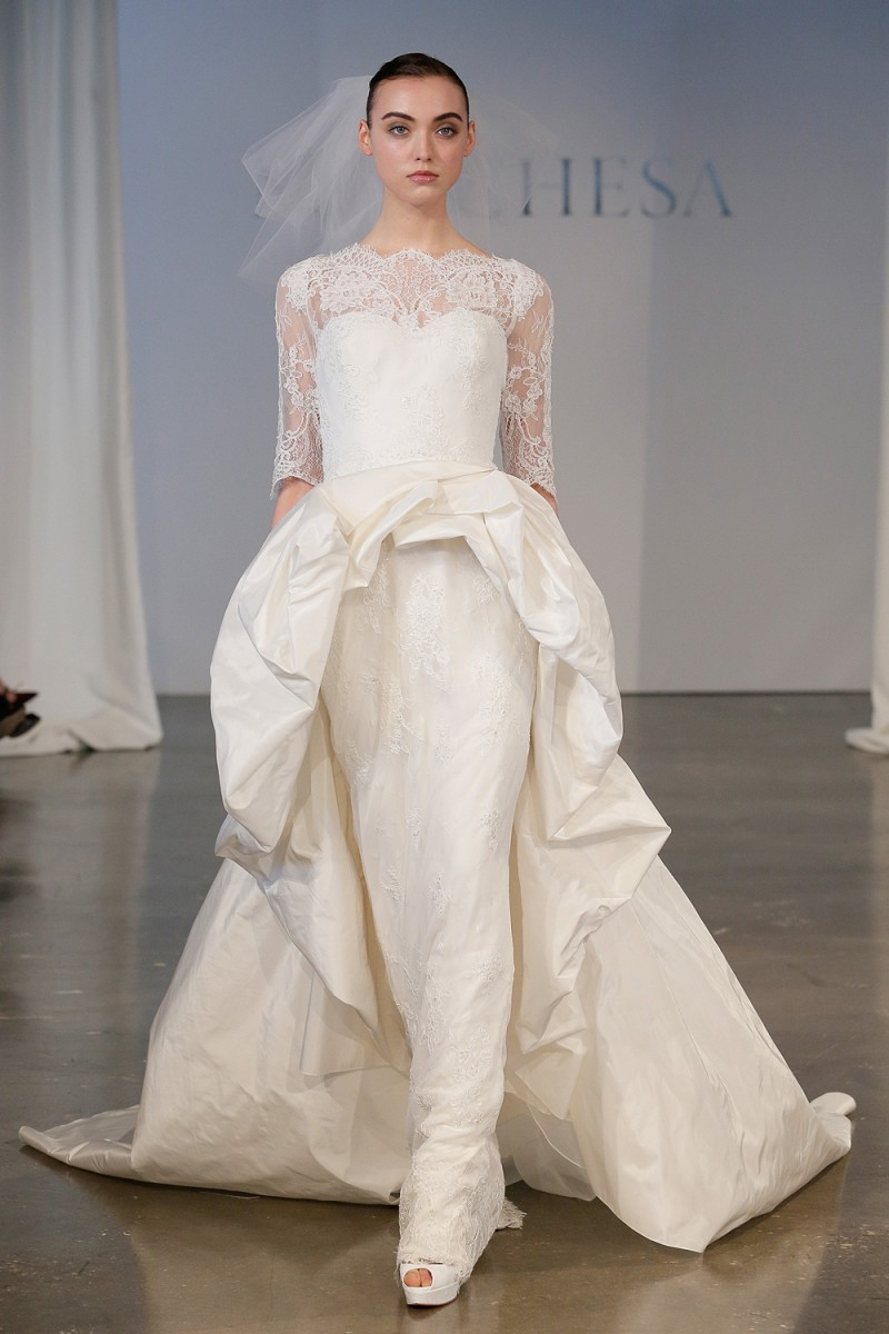If going to weddings costs too much meet the refuseniks today image 2014 bridal springsummer collection marchesa show ombrellifo Image collections