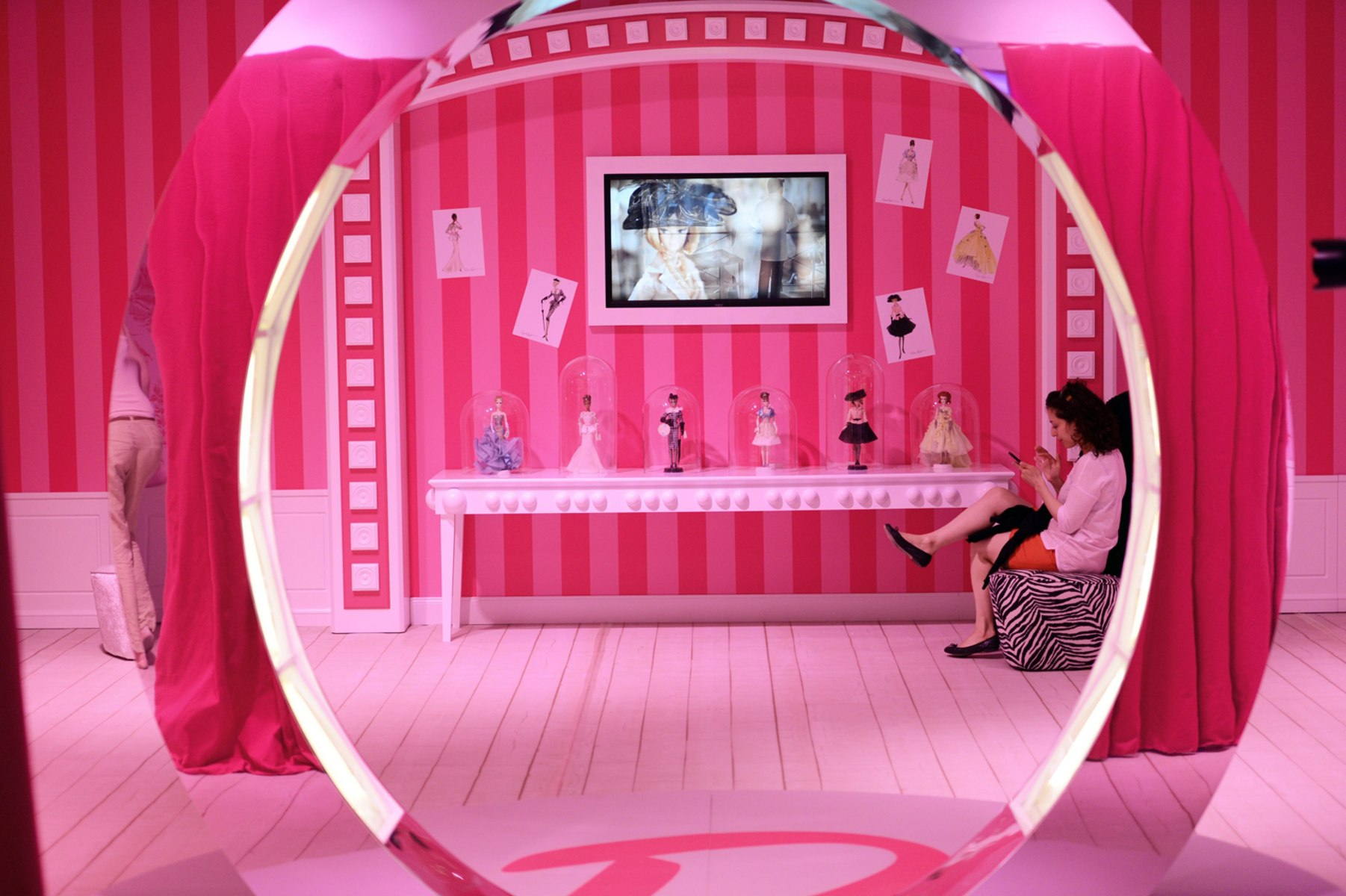 Image  Barbie Dreamhouse opened in Berlin. Barbie s Dreamhouse now life size reality in Florida   TODAY com