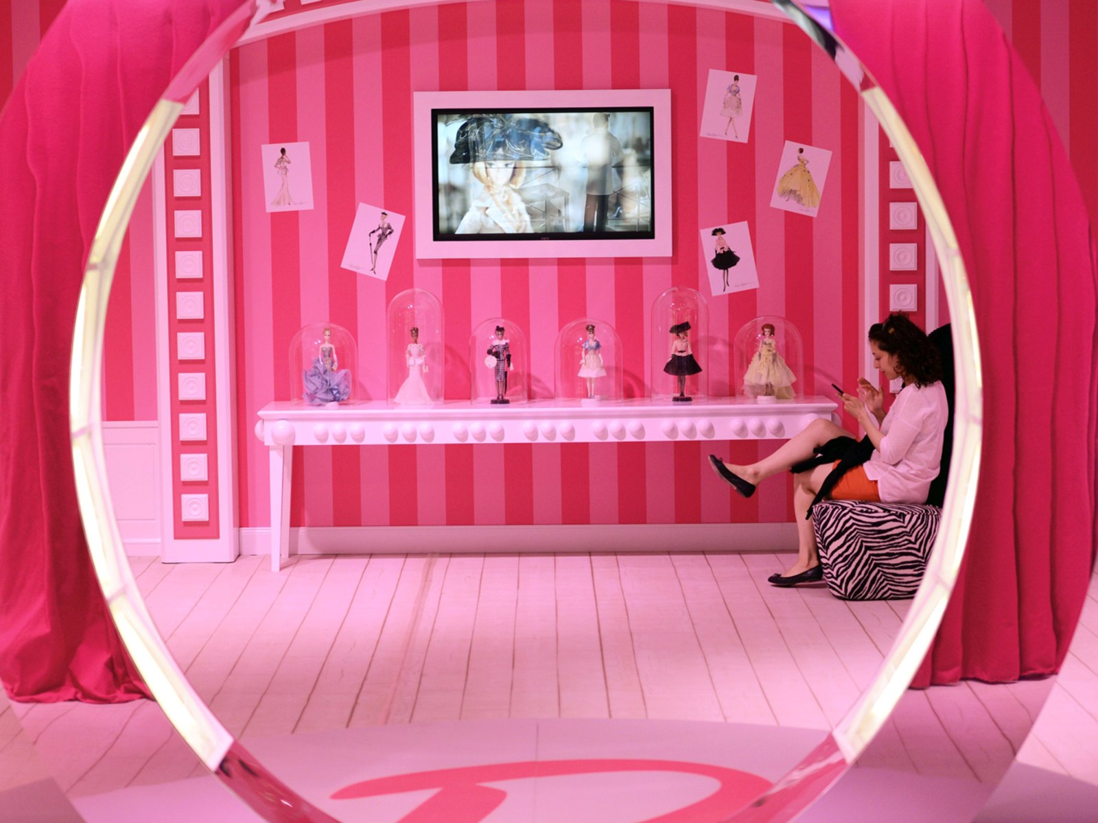 Image: Barbie Dreamhouse opened in Berlin